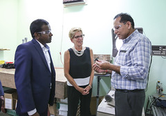 IMG_0973  Premier Kathleen Wynne toured RAM Plastics in Scarborough. (Ontario Liberal Caucus) Tags: scarborough industry thiru smallbusiness business