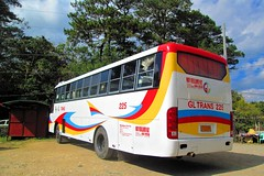 GL Trans 225 at Sagada, Mt. Province (II-cocoy22-II) Tags: mountain bus philippines trans sagada province 225 gl lizardo