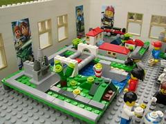 LEGO Mini exhibition - City (BrickJonas) Tags: city castle star lego taj mahal mini exhibition wars microscale