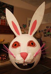 Done! (Radarsmum67) Tags: rabbit paper easter erin bonnet papier mache