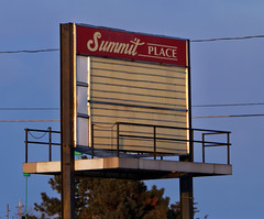 Summit Place Cinemas sign (Nicholas Eckhart) Tags: usa abandoned retail mi america mall dead us michigan vacant pontiac stores waterford township charter shuttered 2015 summitplace deadmall