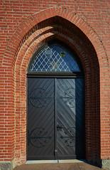 Eingangsportal Kirche Behlendorf (MKallweit) Tags: eingangsportal behlendorf xt1 sakrales xf14 kirchebehlendorf