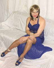 Lady in blue 1 (Julia Sweet) Tags: uk sexy stockings sex lady fetish t tv high doll slut feminine cd young mini crossdressing tgirl transgender sissy tranny transvestite heels males change trans transexual queer girlz maid pantyhose crossdresser crossdress bizarre ts kinky stilettos boygirl nylons shemale feminization girlboy fetisch girlyboy sissyboy feminisation tgirls sheboy cdtv transvesite trannyboy sissyfication girlyboys gaysissy