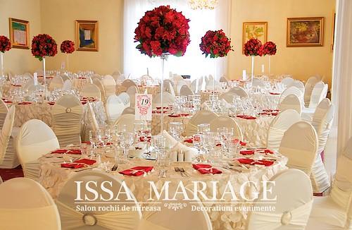 Flickriver Photoset Decoratiuni Nunta Ivory Cu Aranjamente Florale