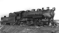 CB&Q 0-8-0 Class F-1 541 (Chuck Zeiler) Tags: cbq 080 class f1 541 burlington route railroad locomotive chuck zeiler