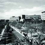 Atatürk Boulevard, Faculty of Language, History and Geography, İsmet Pasha Girls' Institute, 1940s