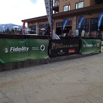 Fidelity Banner on display at Revelstoke U14 Can-Am championship event