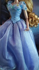 Disney Store Limited Edition 17'' Live Action Blue Ball Gown Cinderella (myuoi) Tags: blue ball store doll action live disney 17 cinderella gown limited edition 2015