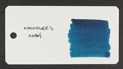 Noodler's Navy - Word Card