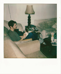 (georgiaah) Tags: film sc polaroid milk charleston sittin instantfilm