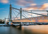 The Albert Bridge (Nomadic Vision Photography) Tags: longexposure sunset england london heritage chelsea unitedkingdom dramatic historical battersea riverthames albertbridge sirjosephbazalgette jonreid gradeiilisted unusualdesign rowlandmasonordish tinareid nomadicvisioncom englishheritagegradeii