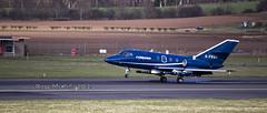 Falcon G-FRAI (Rossco156433) Tags: training scotland exercise military falcon prestwick ayrshire dassault royalnavy prestwickairport southayrshire dassaultfalcon20 jointwarrior gfrai cobhamfalcon prestwickinternational