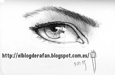 pencil eye. Sketch (rafanav) Tags: eye art pencil sketch drawing navarro rafa