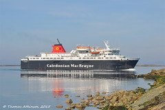 MV CALEDONIAN ISLES, Ariving at Ardrossan (Time Out Images) Tags: scotland north kingdom calmac isles mv caledonian untied ayrshire ardrossan