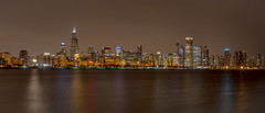 Chicago Skyline Night (Fret Spider) Tags: city sky urban lake chicago storm reflection skyline night clouds canon panoramic lakemichigan nighttime april 5d canon5d nightlife 24mm manual manualfocus tse tiltshift manuallens willistower canoneos5dmarkiii canon5dmarkiii 5dmk3 canontse24mmf35lii canon5diii