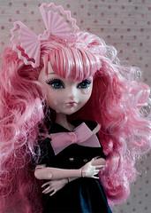 Crybaby <3 (sadeyeddoll) Tags: pink doll crying cry pinkhair crybaby melaniemartinez heartstruck cacupid everafterhigh