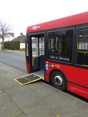 GAL MB 160 - YX60FVC - NS RAMP - SOMERDEN ROAD - TUE 15TH MAR 2016 (Bexleybus) Tags: london ahead go 200 dennis enviro metrobus 160 adl orpington goahead yx60fvc
