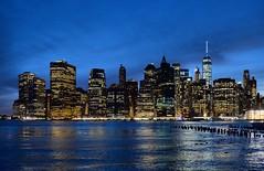 skyline (poludziber1) Tags: newyork city colorful cityscape landscap sky sunset river water skyline building buildings blue matchpointwinner t526 challengegamewinner