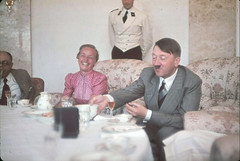 Hitler makes wife of Gauleiter Albert Forster, Gertrud Deetz, laugh at the Berghof, Hitler's home in the Obersalzberg, 1939 [1157x779] #HistoryPorn #history #retro http://ift.tt/1qSTUml (Histolines) Tags: history home albert hitler retro laugh wife timeline makes 1939 hitlers forster gertrud berghof deetz obersalzberg vinatage historyporn gauleiter histolines 1157x779 httpifttt1qstuml