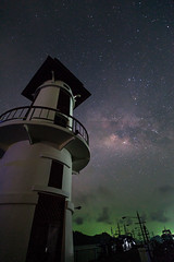 The Milky Way over Salak Phet Lighthouse (Koh Chang Island) (baddoguy) Tags: sky lighthouse vertical dark thailand outdoors island photography space tranquility nopeople astronomy celebrities copyspace beacon kohchang milkyway tranquilscene unusualangle traveldestinations colorimage beautyinnature buildingexterior artscultureandentertainment spaceandastronomy tratprovince