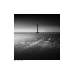 marker (Charlie Pragnell) Tags: sea seascapes squareformat marker fineartphotography merseyside crosbybeach blackwhitefineart seascapesshorelines olympusuk olympuseurope olympusomd