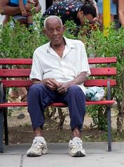 Bench time - part 2 (Marija Vujosevic) Tags: park parque people bench faces gente cuba banco kuba