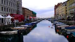 Trieste - canal grande (trovado73) Tags: water trieste canale facciate scafi