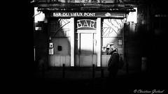 Closed (christian.grelard) Tags: street blackandwhite bw monochrome bar canon eos 50mm closed noiretblanc nb rue 700d canonfrance nikcollection