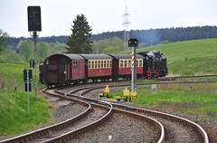 Stiege Harz Germany 19th May 2016 (loose_grip_99) Tags: railroad train germany tank may engine rail railway trains steam 99 transportation locomotive railways harz narrowgauge stiege metre 2016 hsb 6001 262t harzer schmalspurbahnen selketal gassteam