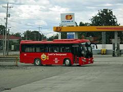 Land Car Inc. 188 (Monkey D. Luffy 2) Tags: road bus public del photography photo nikon philippines transport vehicles transportation coolpix daewoo vehicle society carmen davao norte aspire philippine enthusiasts bm090 philbes