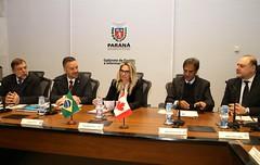 Recebendo o Embaixador do Canad, Sr. Riccardo Savone e Comitiva (Flvio Arns - por Jos Fernando Ogura) Tags: paran seti canad seec seil copel seae betoricha flvioarns embaixadordocanad jfogura