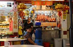 duck (PJHarrison) Tags: street travel food singapore southeastasia market malaysia dining satay hawkers skewers