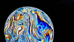 Macro Mondays, Bubbles (shreya59) Tags: blue macro colors soap nikon earth bubbles psychedelic macromondays