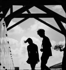 F_DSC8685-BW-Nikon D800E-Nikkor 28-300mm-May Lee  (May-margy) Tags: bridge portrait reflection clouds taiwan bouquet    tainancity  fram        glasspanels repofchina maymargy nikkor28300mm nikond800e maylee  mylensandmyimagination streetviewphotographytaiwan  naturalcoincidencethrumylens  linesformandlightandshadows  whisperofasummerbreeze fdsc8685bw