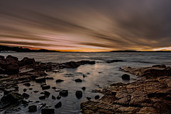 Sunset Shoal Bay! (Tim_Matthews IG @T.M_Photos) Tags: ocean winter sunset cloud water landscape rocks waves overcast australia newsouthwales portstephens nisi 2016 landscapephotography shoalbay tmphotos timmatthewsphotography nisifilters