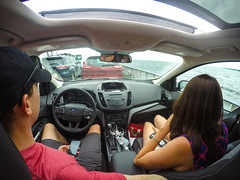 The beginning of a long drive home (justinlangston336) Tags: ferry wah backofhead lakechamplain werehere familyvacationjune2016