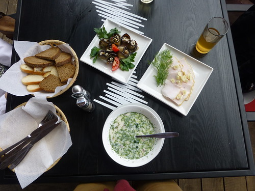Traditional lunch, Kyiv