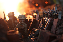 GET DOWN (Kyle Hardisty) Tags: world california lighting 2 macro brick field grass rock canon kyle photography 1 war rocks arms lego fig outdoor wwii lakes mini dirt ii lee british battlefield custom twigs depth enfield minifigure 2016 bf1 brickarms battlfield hardisty