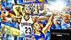 lebron blocking curray 2016 finals. (dbrandmedia) Tags: summer golden state cleveland steph curry finals warriors block nba jame lebron cavaliers 2016