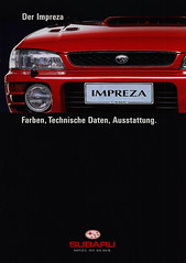 Subaru Impreza Farben, Technische Daten, Ausstattung. 1997 (World Travel Library) Tags: subaru impreza farben technische daten ausstattung 1997 red car brochures sales literature auto worldcars world travel library center worldtravellib automobil papers prospekt catalogue katalog vehicle transport wheels makes model automobile automotive cars motor motoring drive wagen fahrzeug photos photo photography picture image collectible collectors collection sammlung recueil collezione assortimento coleccin ads online gallery galeria japan automobiles japanese   frontcover documents brochure   broschyr  esite   catlogo folheto folleto  bror