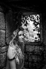 frame of an ancient mill (simondegroote) Tags: portrait woman beauty blackandwhite mill old abandoned nature canon eos 6d sigma f28