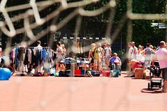 Flea market on a soccer field (Gulius Caesar) Tags: people canon munich eos rebel market flea glockenbach t2i glockenbachfest
