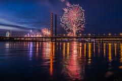 Dsseldorf Funfair Fireworks (Moritz Padberg) Tags: fireworks funfair rheinkirmes dsseldorf duesseldorf