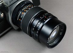 Prinzgalaxy 3.5/135mm Lens (01) (Hans Kerensky) Tags: prinzgalaxy 135 135mm m42 dixons lens preset diaphragm