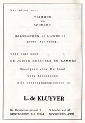 1964 Match (Steenvoorde Leen - 1.9 ml views) Tags: ad annonce advert match 1964 noordwijk anzeige advertentie rijnland oestgeest noordwijkaanzee trimmen kynologen clubblad kynologenvereniging