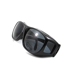 Outdoor HD Night Vision Care Eyes Protect Wrap Around Driving Sunglasses Glasses(Black) (discoverdoctor) Tags: sunglasses night eyes driving outdoor wrap vision around care protect glassesblack