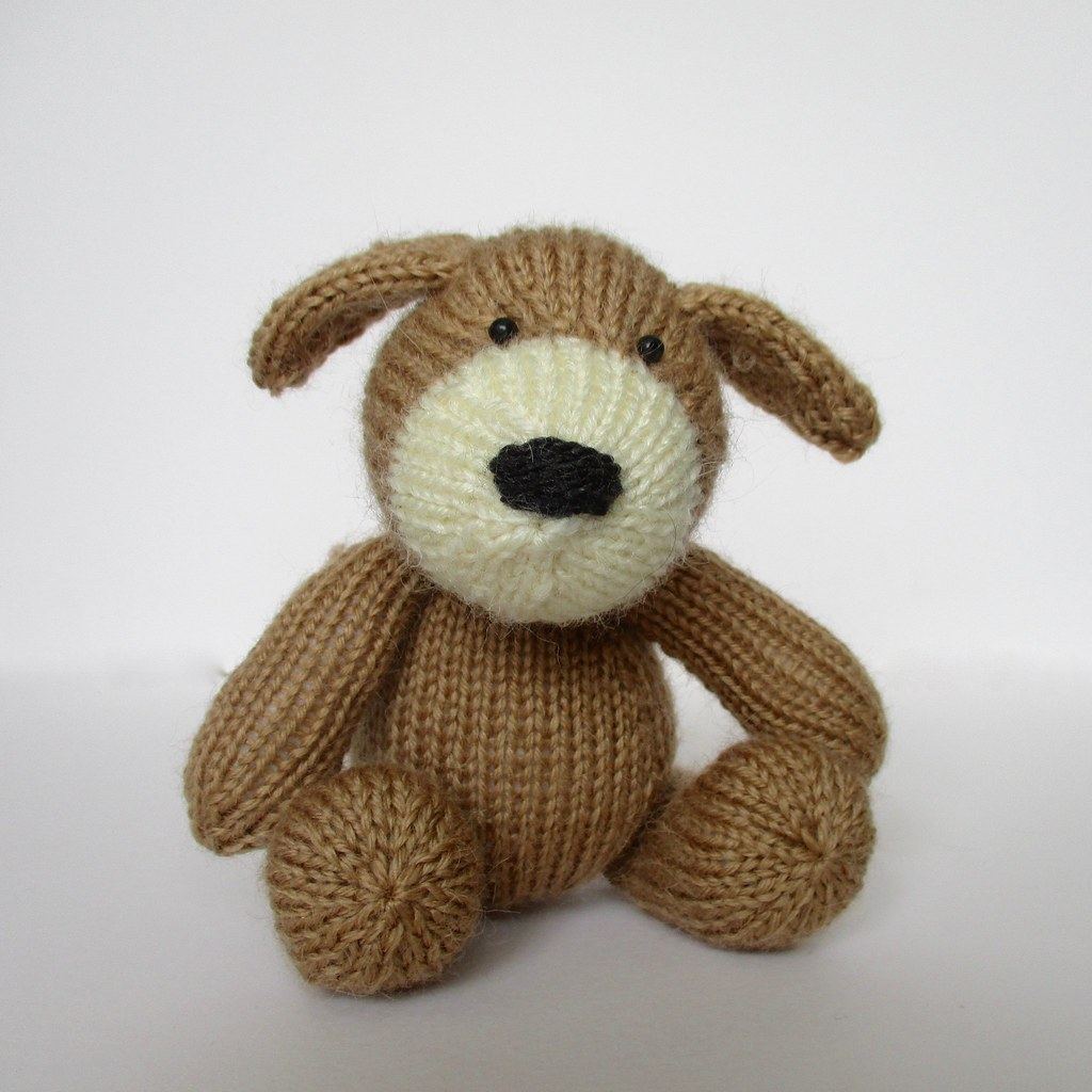 Free Knitting Pattern Toy Puppy : The Worlds newest photos by Knitting patterns by Amanda Berry - Flickr H...