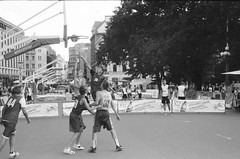 001566650034 (putjka) Tags: kiev4 analog film filmphotography kodak tmax100 bw retro riga basketball streetball