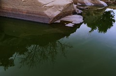 the promised river (*F~) Tags: water river riverbed thirst time memory thehours portugal portuguese desert life hope nature