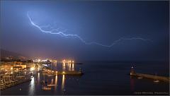 Stormy night in Bastia (Jean-Michel Raggioli) Tags: bastia corse corsica lightning orage storm thunderstorm